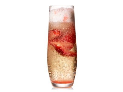 June 2014 Food Network Mag - Strawberry Prosecco Floats