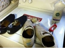 Admit it we all have stinky Toms! Soo here is a good website on how to clean your Toms! :)   http://www.shoedigest.com/shoe-repair/clean-toms-shoe/
