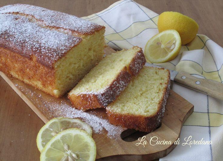 Un morbido e profumato Plumcake soffice al limone che riempirà in un attimo la vostra casa del suo delizioso profumo per una colazione meravigliosa