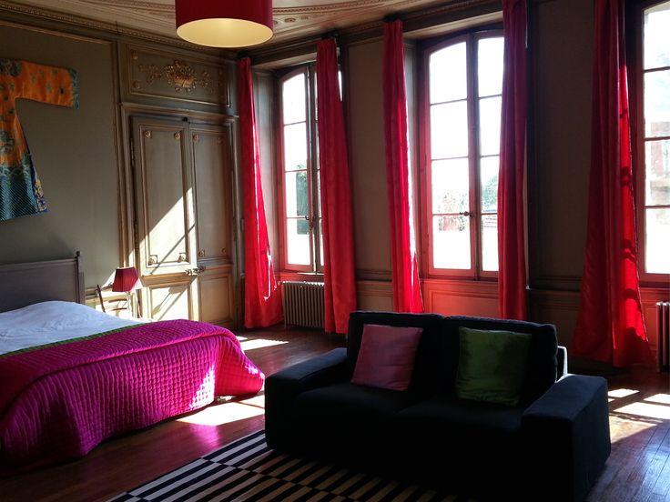 Chambre historique, décoration d'époque Louis XIV
