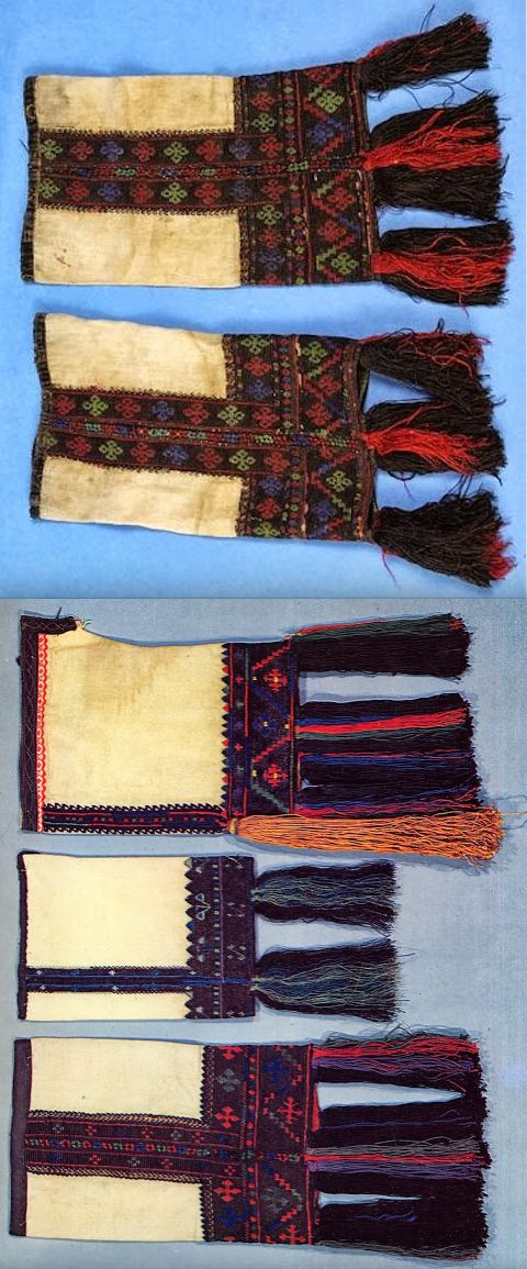 (chemise) sleeves of the Karagouni, Thessaly, Greece