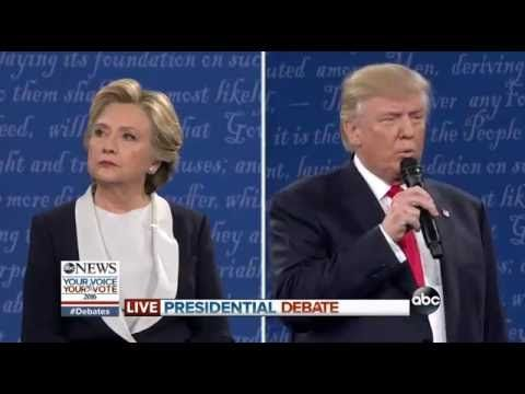 FULL: Second Presidential Debate - Hillary Clinton Donald Trump - St. Louis Town Hall - YouTube