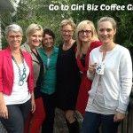 Women Entrepreneurs at Go to Girl Biz Coffee Group.