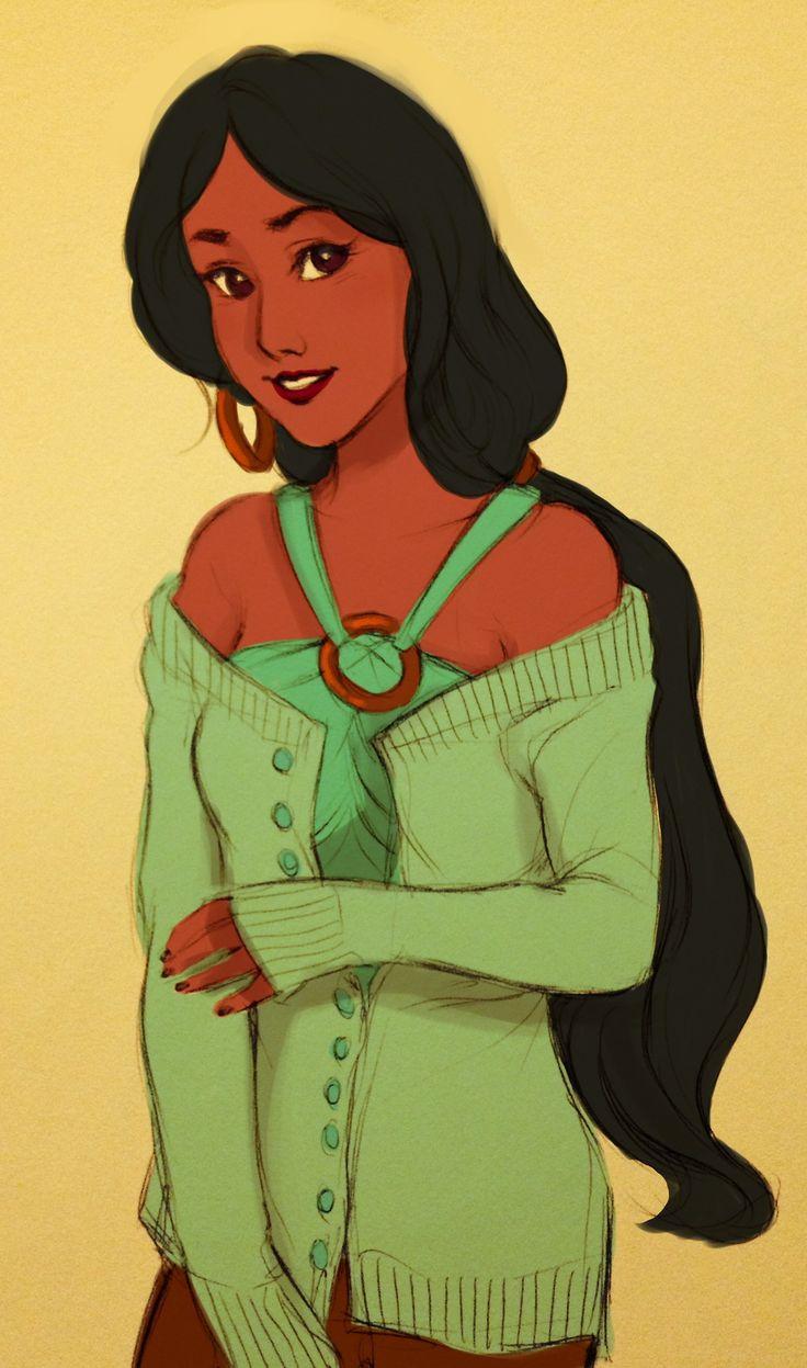 modern disneys - Jasmine