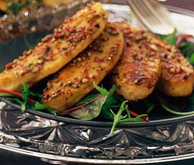 Recept: Pepparkryddad quornfilé