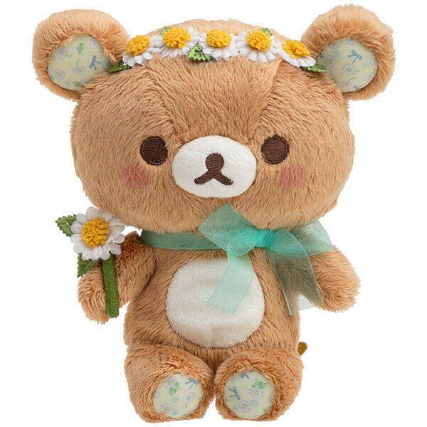 Chairoikoguma Plush Doll San-X Japan New Year 2020 Rilakkuma