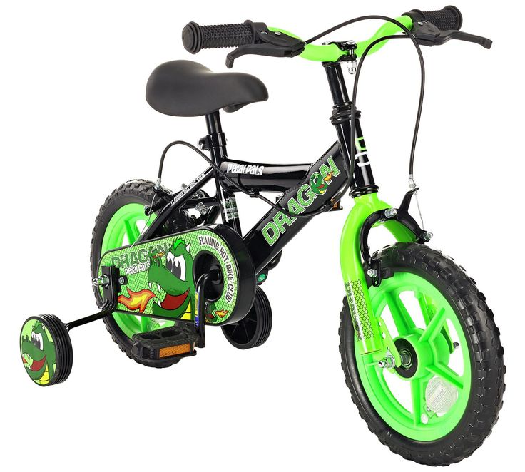Buy Pedal Pals 12 Inch Dragon Kids Bike at Argos.co.uk, visit Argos.co.uk to shop online for Children's bikes, Outdoor toys, Toys