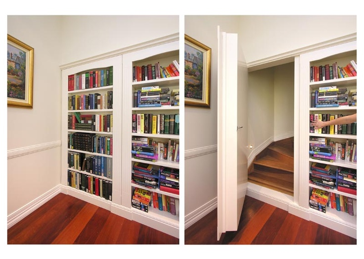 Panic room sweet house ideas secret stairways for Panic room plans