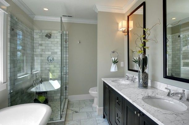 1000 ideas about craftsman bathroom on pinterest for Craftsman bathroom design