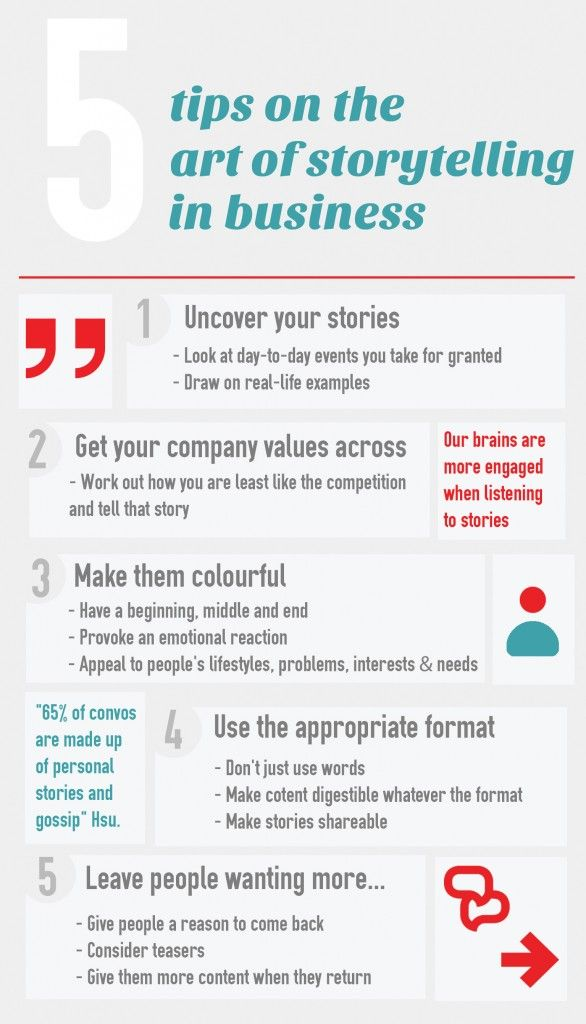 How do you cut through the noise, get your stories heard and resonate with the consumer? Here are some #tips for the art of #storytelling in #business .