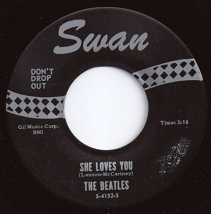 She Loves You / Beatles #1 on Billboard 1964
