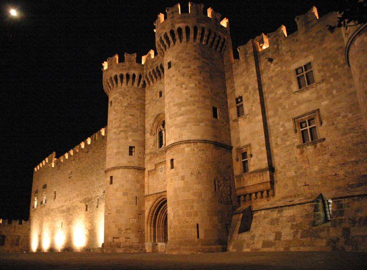 Visit Greece  #Rhodes #castles #Greece