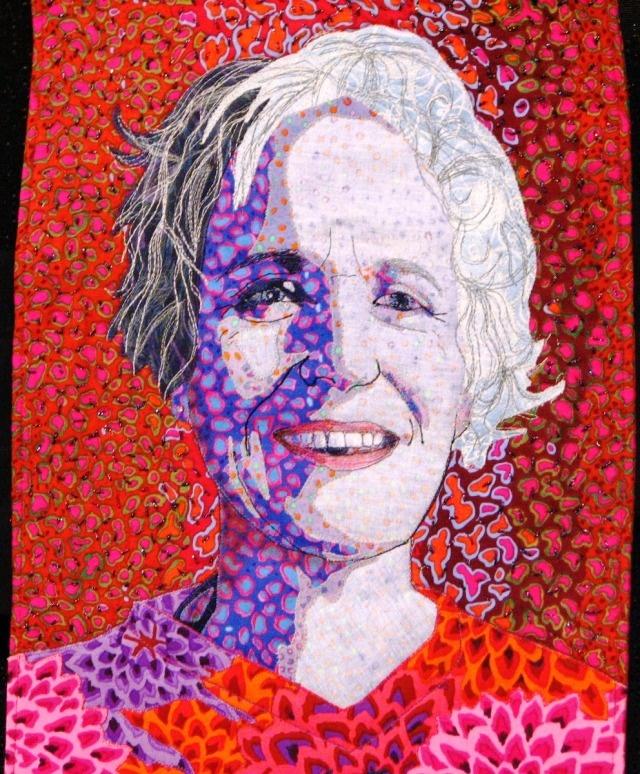 45 best Portrait Quilts images on Pinterest | Embroidery, Textiles ... : portrait quilts - Adamdwight.com