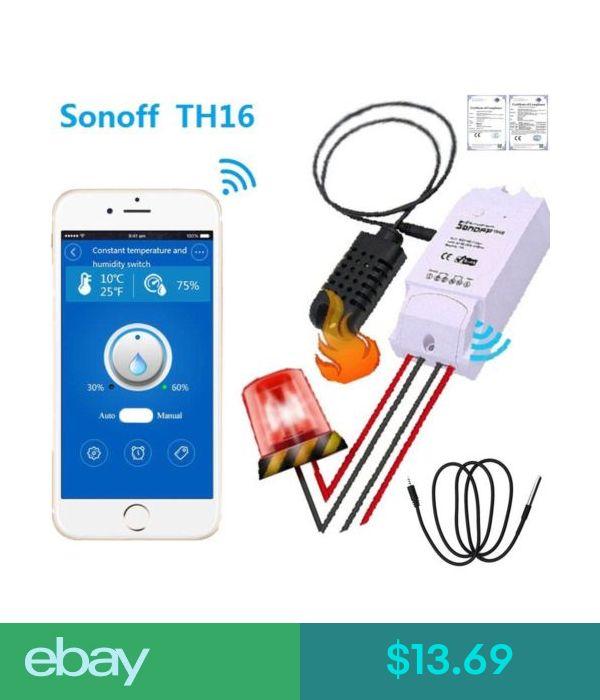 Remote Controls Sonoff Th16 Wireless Remote Control Switch