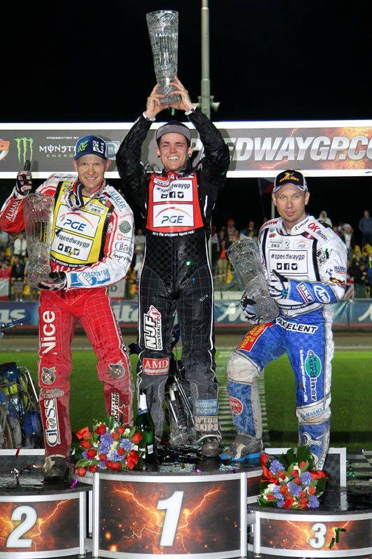 Tai Woffinden wins the gp chec republic
