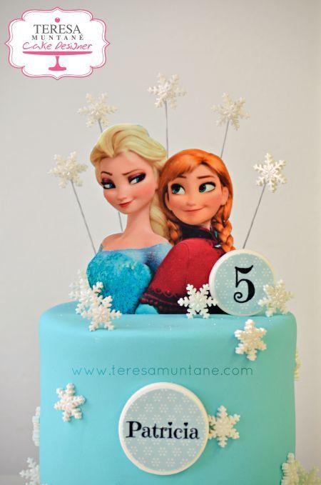 Tarta Frozen fondant - Frozen fondant cake www.teresamuntane.com Teresa Muntané Cake Designer