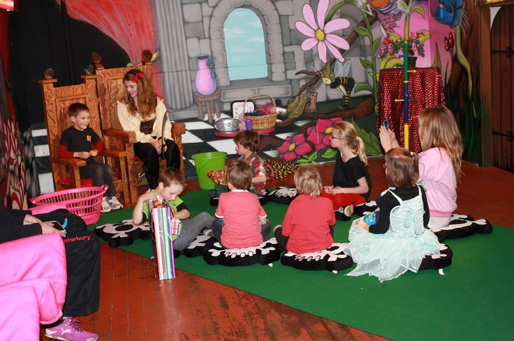 A hosted childrens  party in our fantastic party room, you pick the theme  check us out at www.pinkalillys.co.nz