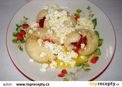 Kynuté jahodové knedlíky recept - TopRecepty.cz