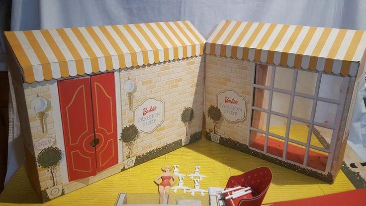 1962 Mattel винтажная Барби модный магазин картонный игровой набор почти полный | Куклы и мягкие игрушки, Куклы, Старинные Барби (до 1973 г.) | eBay!