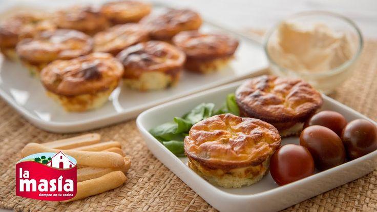 ¿Te gustaría innovar en la cocina? Prueba esta deliciosa y original #Tortilla de #patatas en #cupcake. El paso a paso, en nuestro #BlogLaMasía.