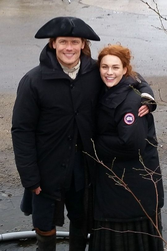 """sam-heughan-daily: """"April 10, 2018   Outlander S4 'Drums of Autumn"""