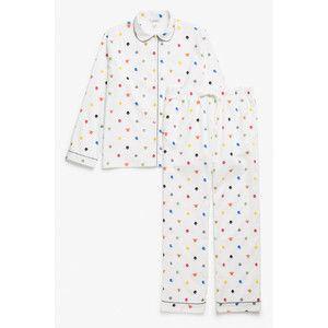 Monki Flannel pyjama set