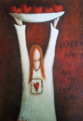 Father, here is all my love for You - Artist - Valencia van Zyl