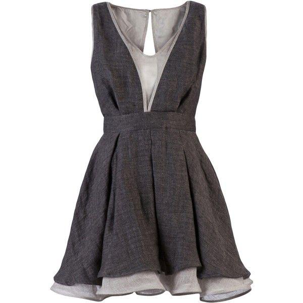 linen dress. tristan & trista.: Baby Doll