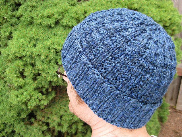 Waffle hat knitting pattern... Free... Knitting Pinterest Ravelry, Knit...