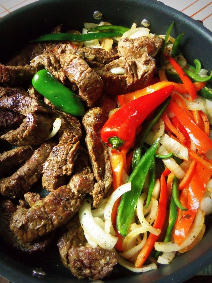 Beef Fajitas In the Slow Cooker - Hispanic Kitchen April 2014