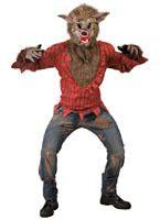 Disfraz de Lobo con Máscara adulto