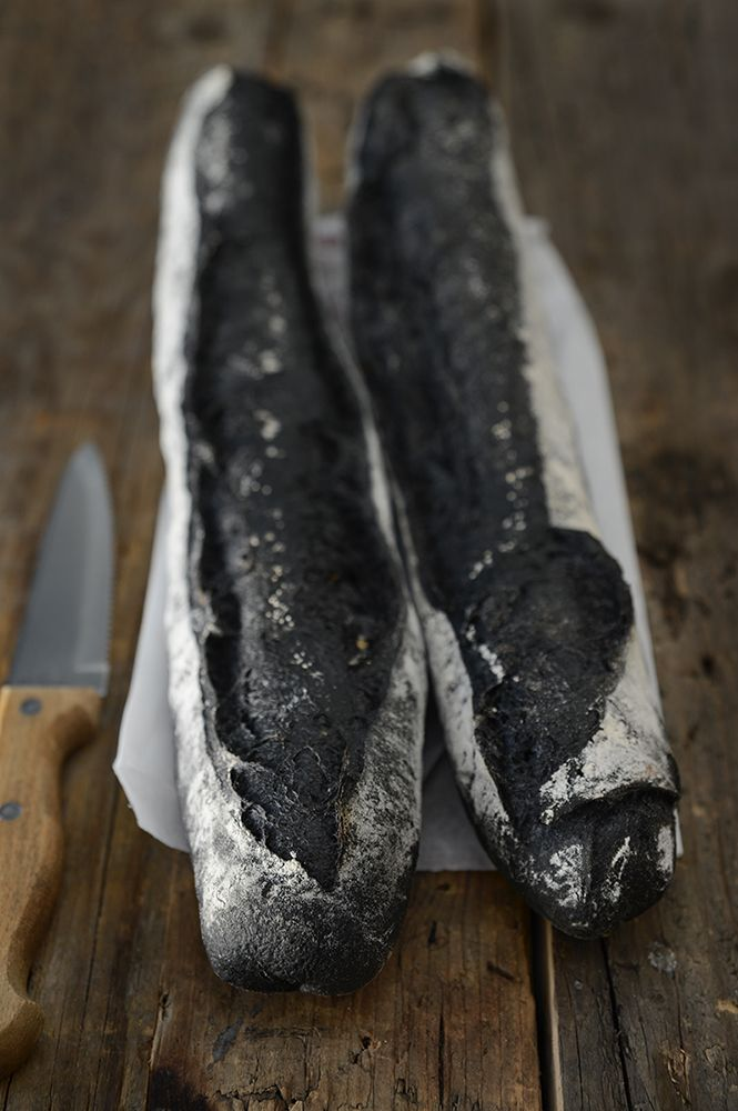 Black Bread - Darkness Food (vegan bread, Squid Ink Free)