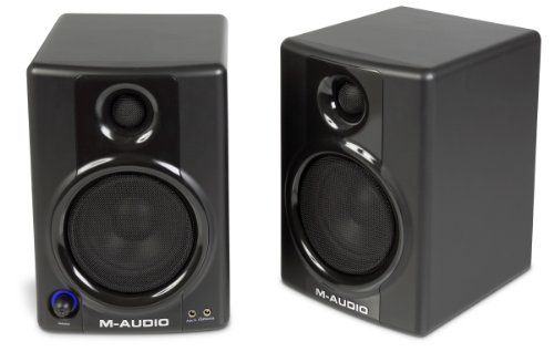 M-Audio Studiophile Av 30 Active Studio Monitor Speakers (Pair), 2015 Amazon Top Rated Studio Monitors #MusicalInstruments