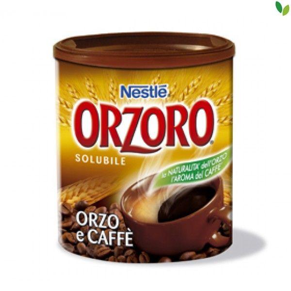 Orzoro solubile e caffè