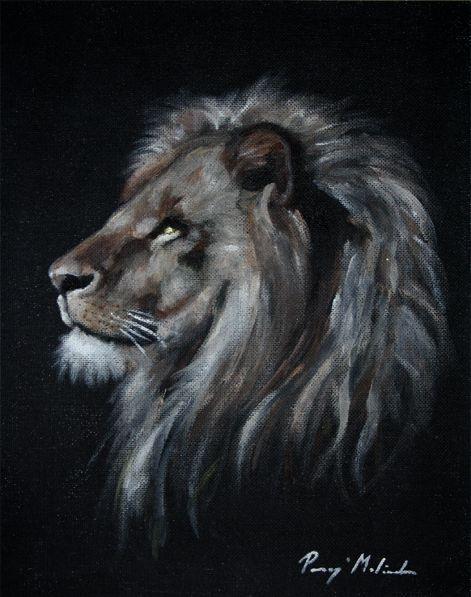 painting by lilaló | Paragi Melinda