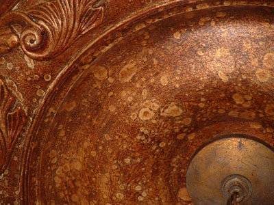 Copper And Bronze Faux Finish Decorative Painting