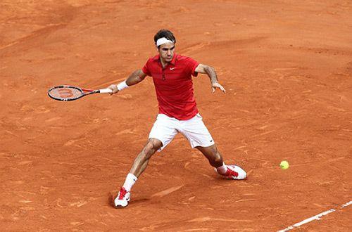 Роджер Федерер уступил в четвертьфинале турнира в Монте-Карло (видео)