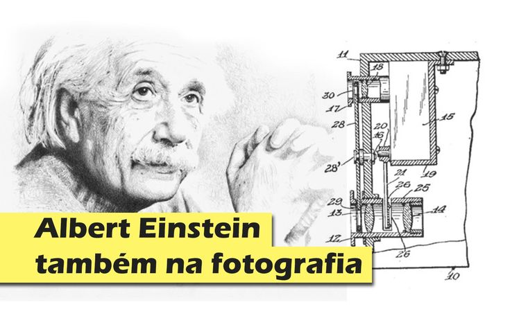 Albert Einstein também na fotografia  Um facto interessante que nem toda a gente sabe...