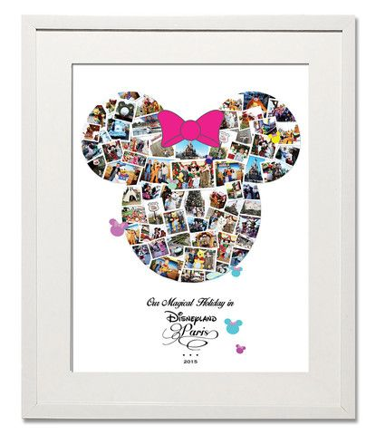 Magical Minnie Photo Collage - Treasure on the Wall - 1