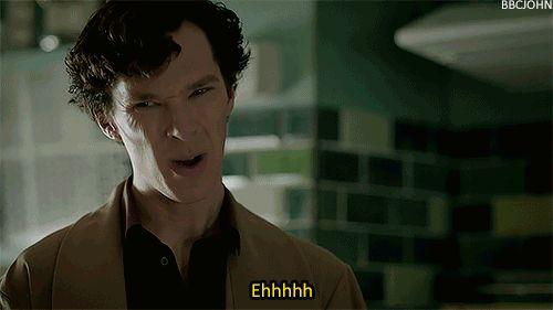 Sherlock Sign of Three It Is