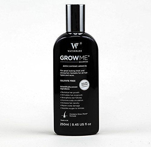 Best Hair Growth Shampoo Sulfate Free, Caffeine, Biotin, Argan Oil, Allantoin, Rosemary. Stimulates hair re-growth, Helps Stop Hair Loss, Grow Hair Fast, Hair Loss Treatment for Men & Women Watermans Grow Me http://www.amazon.co.uk/dp/B00Q59B4UK/ref=cm_sw_r_pi_dp_06.Rwb09W8Z95