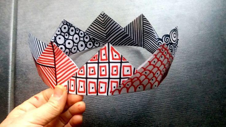 Couronne réversible graphisme - Le tour de mes idées en 2020   Couronnes, Graphisme, Couronne roi
