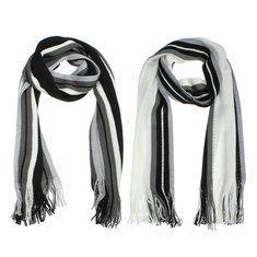 #Banggood Зимняя мужская в полоску с бахромой вязаная имитация кашемир длинный шарф (914835) #SuperDeals