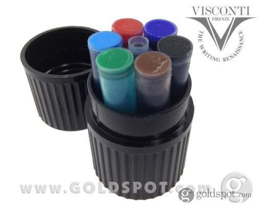 Visconti Multi-Color Fountain Pen Ink Cartridges Set of 7