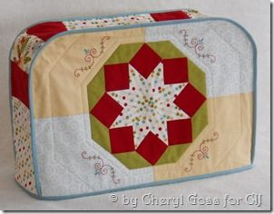 Willowberry Designs: Sewing machine cover