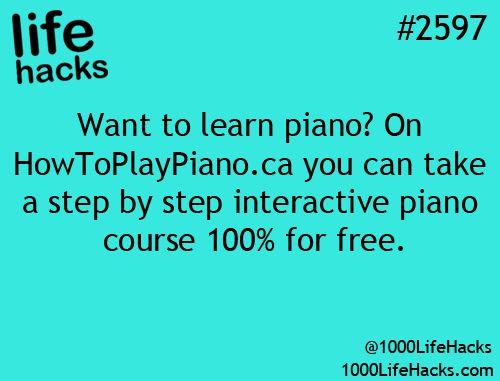 Photo (1000 Life Hacks) #learnpiano