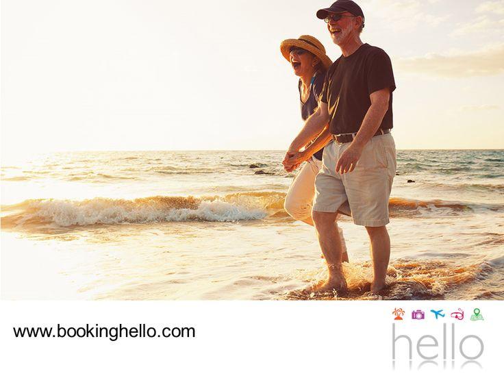 VIAJES PARA JUBILADOS. En Booking Hello buscamos brindarte una experiencia única, durante tus vacaciones en la jubilación. Al adquirir tu pack, tendrás los mejores días con todo incluido en el Caribe dominicano o Cancún, alojamiento 5 estrellas en los resorts Catalonia y además, obtendrás beneficio Hello por un año para seguir viajando con las mejores tarifas y descuentos. Te invitamos a visitar nuestra página en internet www.bookinghello.com, para más información. #BeHello