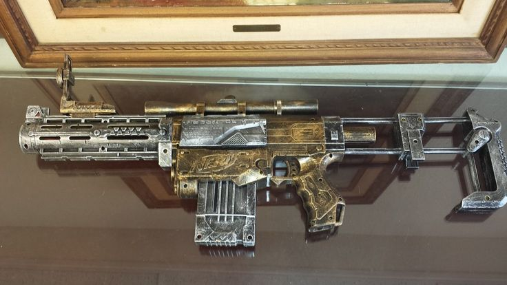 Steampunk Nerf Recon CS 6 Modified Mod Cosplay Humans Zombies Machine Age HVZ | eBay