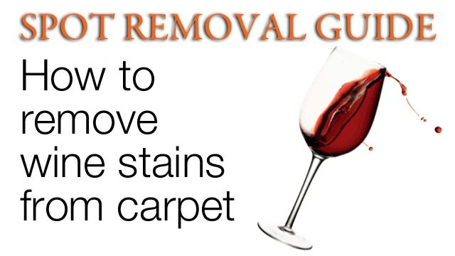 How to remove Red Wine out of Carpet | Remove Wine Stains from Carpet