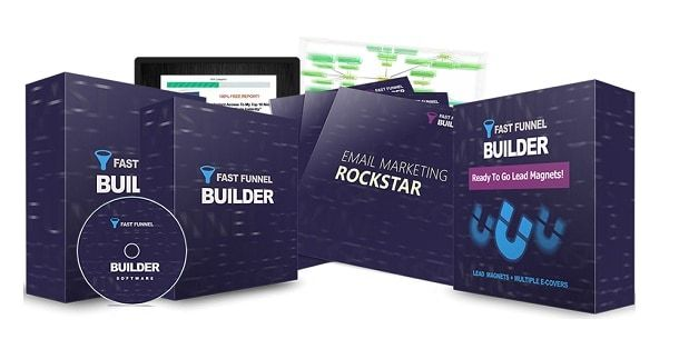 Fast Funnel Builder – what is it? Fast Funnel Builder is a new software that allows anyone to build responsive mini funnels for any niche with just some clicks. All you have to do is just follow some simple steps and you'll be ready to go.